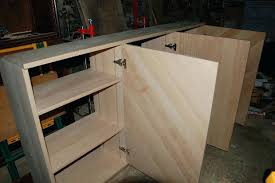 fabriquer caisson cuisine fabrication meuble ses meubles de soi meme