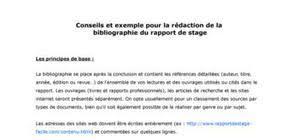 rapport de stage 3eme cuisine conclusion rapport de stage exemple rapport de stage