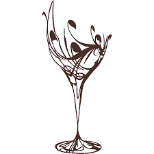 martini glass logo png stickers news stylized wine glass art u0026 stick