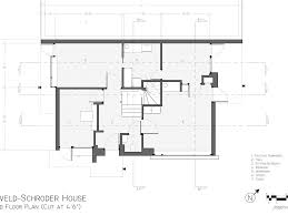 house floor plans with dimensions download schroder house autocad floor plan adhome