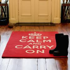 Modern Kitchen Rugs Kitchen Rug Sets Retro Modern Kitchen With Keep Calm Carry On
