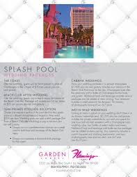 wedding packages in las vegas las vegas wedding packages flamingo hotel casino