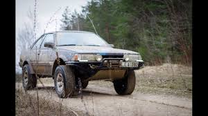 subaru leone sedan subaru leone coupe off road youtube