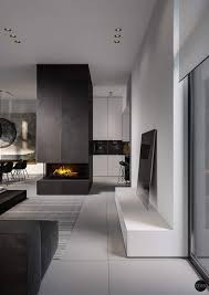 living and kitchen design three black and white interiors that ooze class