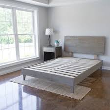Bed Frame Wood Wooden Floor Bed Frame Morespoons 0792aca18d65