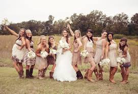 bridesmaid dresses for country themed wedding