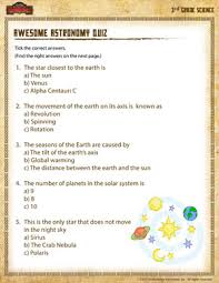 awesome astronomy quiz u2013 online science activities for 3rd graders