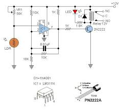 ldr switches are used to switch other device when light are