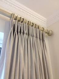 Grey Linen Curtains Pleat Curtains Made To Order Chilmark Salisbury