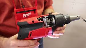 milwaukee m18 drywall screwgun youtube