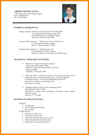 professional resume samples pdf resume sample philippines simple frizzigame resume sample pdf philippines frizzigame