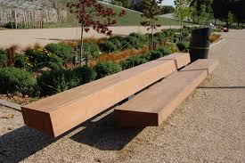 Benches In Park - garden benches to enhance your trends with landscape design
