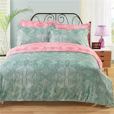 Double Duvet Cover Sets Uk Aliexpress Com Buy 90gsm Green Pink Rose Red Camel Uk Us Twin