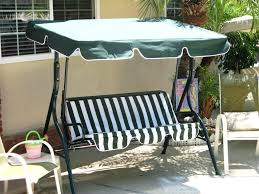 Glider Canopy Replacement by Patio Ideas Swinging Porch Chair Outdoor Swinging Chair With
