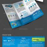 tri fold brochure template powerpoint best of media templates part