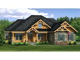 4 bedroom craftsman house plans ranch home plans with walkout basement 4 bedroom craftsman home