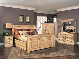 amish highlands eastern arch panel bedroom set by a america