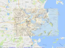 Map Of Boston Logan Airport by Boston Is Built On Man Made Land U2013 Seeds Of Sustainability