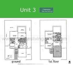 3 floor plans the floor plans emirates living