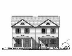 Duplex Building Townhouse And Duplex Gmf Architects House Plans Gmf