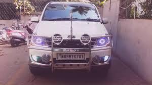 strobe lights for car headlights mahindra xylo strobe lights projector headlights youtube