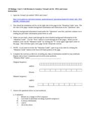 post laboratory questions 1 a mutation a results in a change in