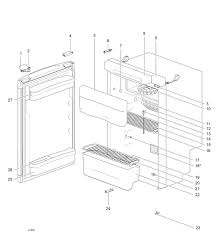 thetford n3097 fridge diagram caracamp of plymouth caravan
