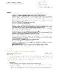 Resume For 1 Year Experienced Software Engineer Restaruant Owner Resume Essay On Respect In The Classroom