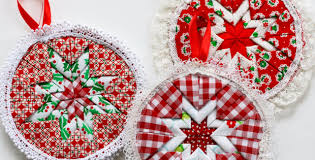 no sew ornaments to decorate your tree or put in the