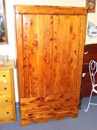 kincaid robes cedar armoire wardrobe closet with double doors full