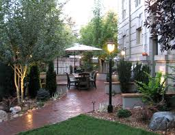Create Privacy In Backyard Mile High Landscaping Denver Cherry Hills Castle Pines Rock Patio