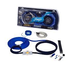 amplifier wiring kits stinger