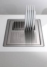 evier cuisine design laver découper sécher un évier trois en un inspiration cuisine
