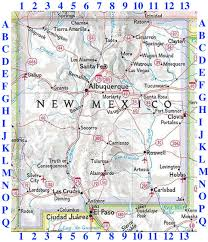 Map New Mexico by New Mexico Waterfalls Dougscottart Com