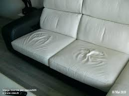nettoyer cuir canapé entretien canape en cuir canapac chateau dax cuirium blanc