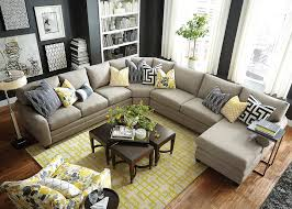 contemporary sitting space decorated with accent chairs for living