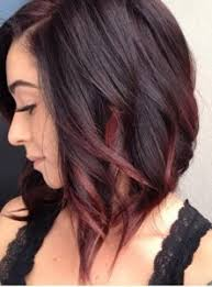 gambar tutorial ombre rambut 25 trend warna rambut ombre pendek sebahu