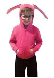 child bunny hoodie christmas story