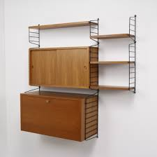 Ladder Shelving Unit The Ladder Shelf Wall Unit By Nisse Strinning For String Design Ab