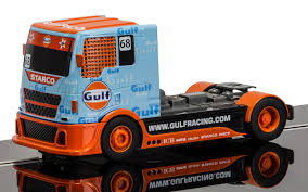 gulf racing logo scalextric c3772 team truck gulf no 68