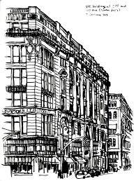 nyc buildings sketch u2013 3 january 2013 handmade ransom notes