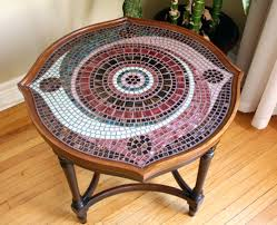 Patio Tile Table Patio Ideas Image Of Mosaic Coffee Table Mosaic Tile Round Patio