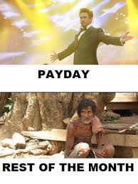 Payday Meme - july 2013 the pixie cut countdown