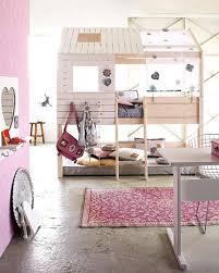 cabane fille chambre decoration chambre enfant theme cabane fille