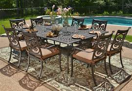 Sale Patio Furniture Sets by Patio Cast Aluminum Patio Dining Sets Home Designs Ideas