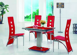 dining room chairs red classy design innovative ideas scenic
