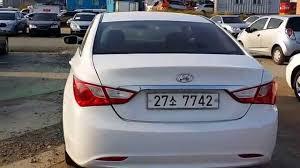 used cars hyundai sonata used car hyundai yf sonata seoul trading autowini com