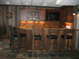 Rustic Bar Lights Bar Styed As Pub Rustic Kitchen Cleveland By Studio 76