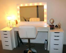 Bedroom Vanity Mirror With Lights White Makeup Table With Mirror Bedroom Vanity Bedroom Makeup