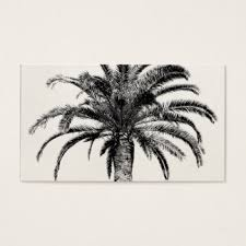 palm trees business cards templates zazzle